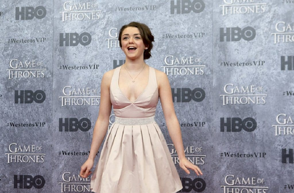 """Maisie Williams Founded a Startup While Shooting """"GoT"""" 